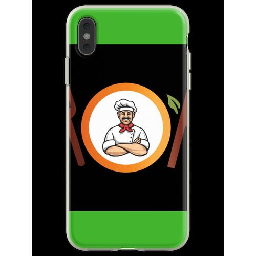 Küchengestaltung Flexible Hülle für iPhone XS Max