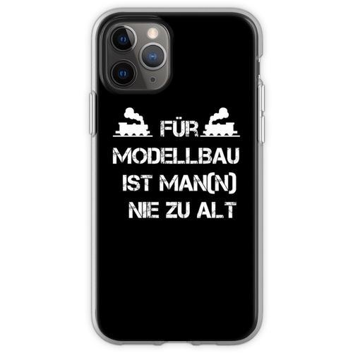 Für Modellbau ist Man(n) nie zu Alt Flexible Hülle für iPhone 11 Pro
