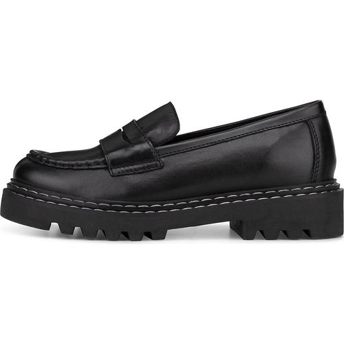 COX, Plateau-Slipper in schwarz, Slipper für Damen Gr. 39