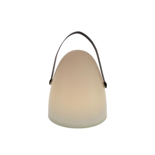 VOSS Design »Bulb« Laterne mit Timer 27x40 cm