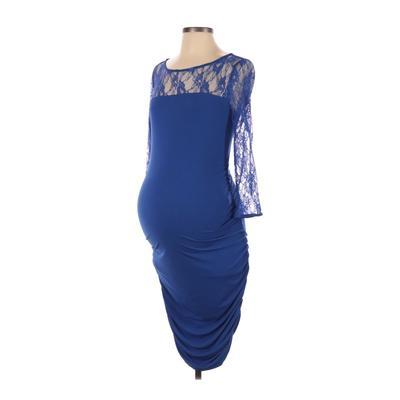 Motherhood Casual Dress - Party:...