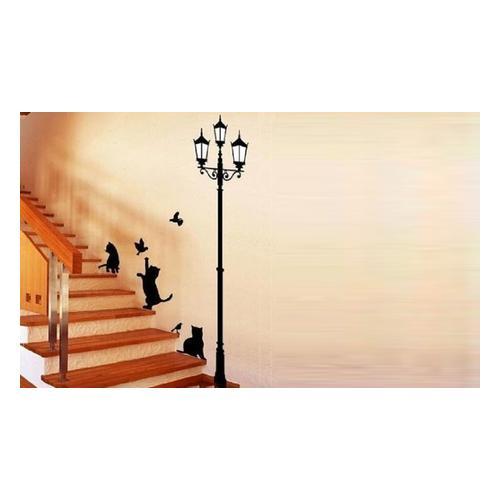 Wandsticker-Set mit Katzen-Motiv: 2