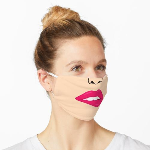 Heiße Lippen - Creme Maske