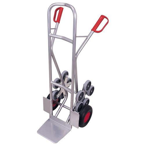 Aluminium Treppenkarre 2 fünfarmige Radsterne Alukarre Klappwagen Treppensteiger