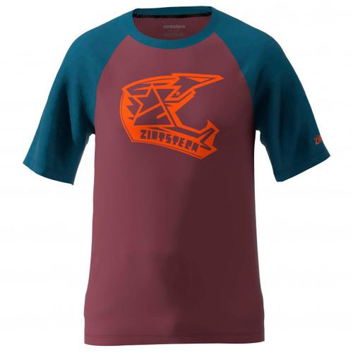 Zimtstern - Faze Tee - T-Shirt Gr XXL rot/lila/blau