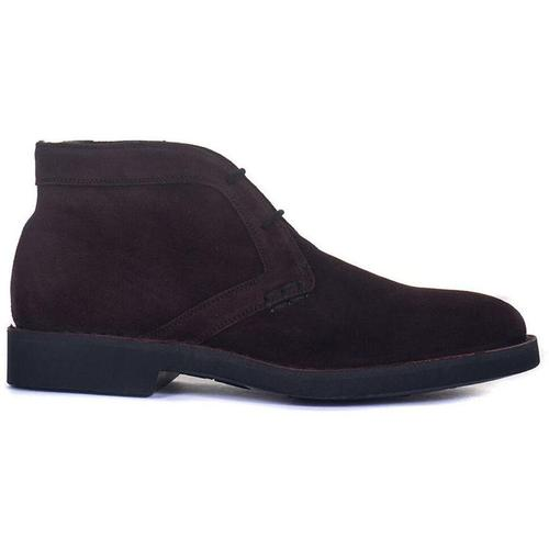 Canali Suede ankle boots