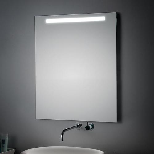 Koh-i-Noor LED SPIEGEL COMFORT LINE mit Oberbeleuchtung, B:70, H:70cm, LC0331 LC0331
