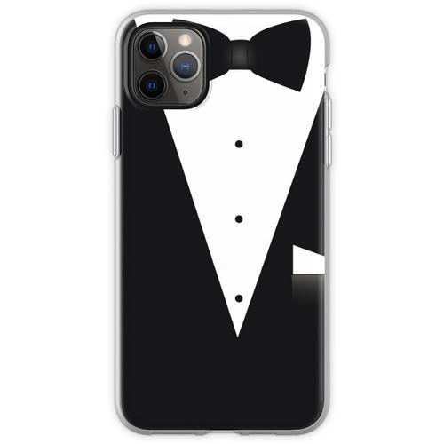 Fliege Anzug Flexible Hülle für iPhone 11 Pro Max