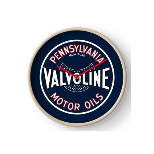 Valvoline Motoröle (blau) Uhr