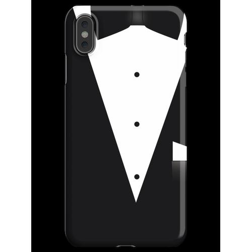 Fliege Anzug iPhone XS Max Handyhülle