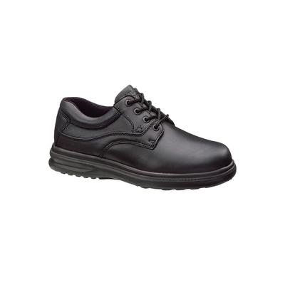 Wide Width Men's Hush Puppies Glen Plain Toe Lace-Up Casual Shoes by Hush Puppies in Black (Size 13 W)