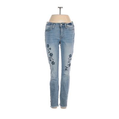 Tommy by Tommy Hilfiger Jeggings - Low Rise: Blue Bottoms - Size 0