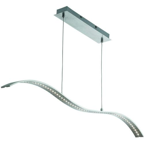 LED Wellenleiste, silber