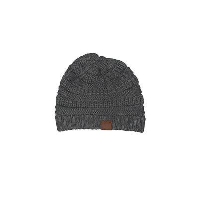 Girlie Girl Beanie Hat: Gray Accessories