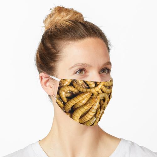 Mehlwürmer Maske