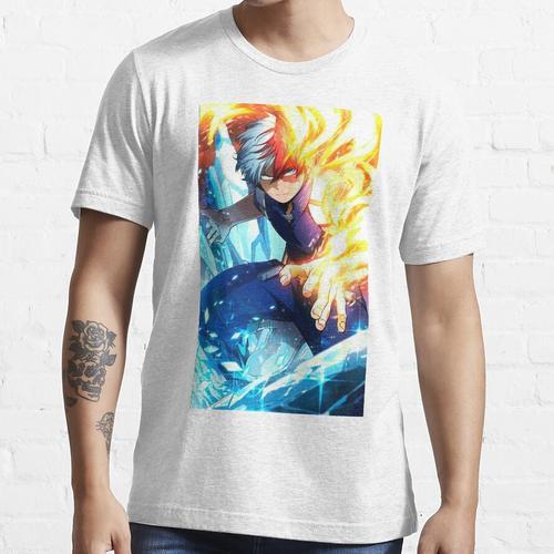 HALBES FEUER HALBES EIS Essential T-Shirt