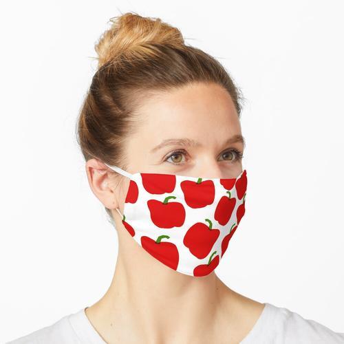 Rote Pfeffermaske Maske