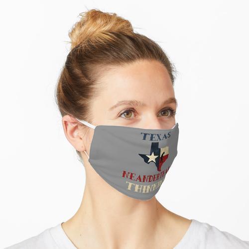 Texas Neandertaler Maske