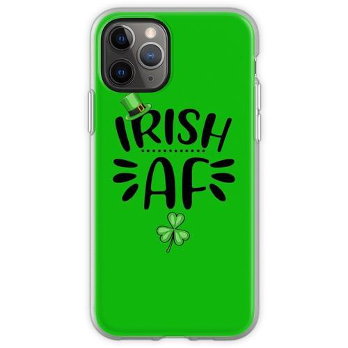 Irisches AF-Hemd, St. Patrick's Day-Hemd, irische Geschenke, St. Pa Flexible Hülle für iPhone 11 Pro