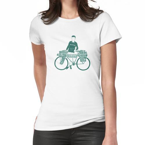 Bikepacking Frauen T-Shirt