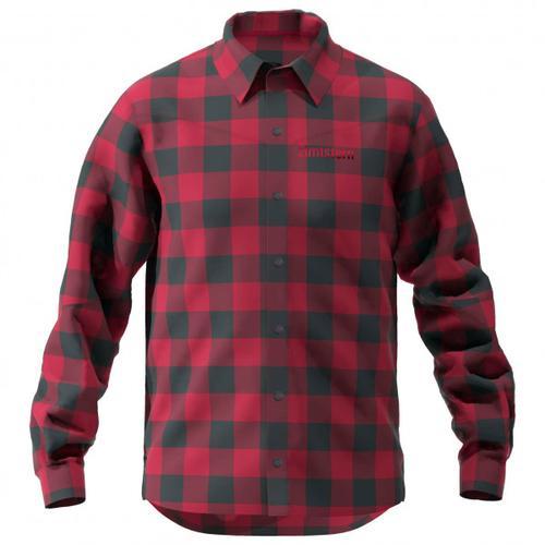 Zimtstern - Timbaz Shirt - Hemd Gr XXL rot/schwarz/lila/rosa