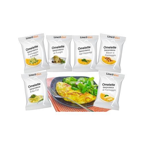 Protein-Omelett: Speck-Käse / 5
