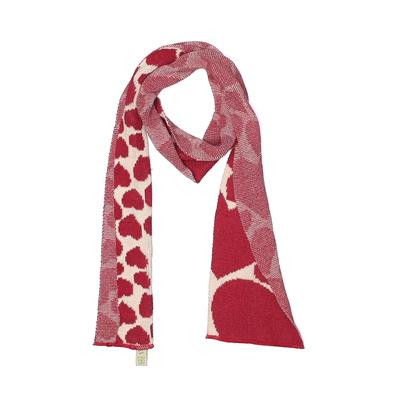 Green 3 Apparel Scarf: Red Accessories