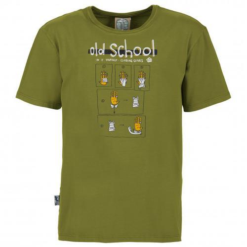 E9 - Old School - T-Shirt Gr XL oliv