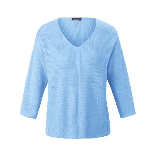 Pullover aus unifarbenem Reiskornmuster Basler air