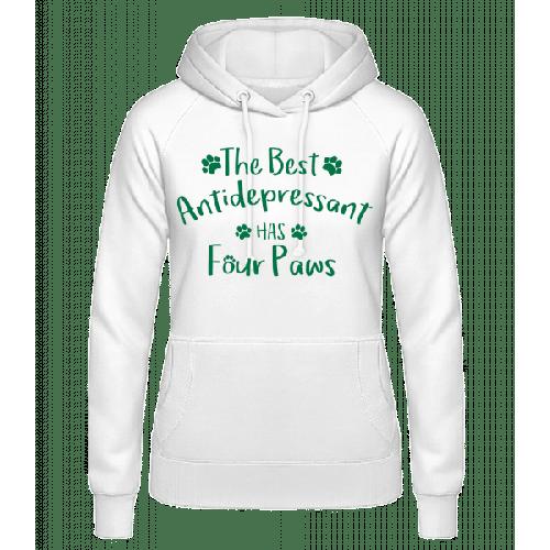 The Best Antidepressant - Frauen Hoodie