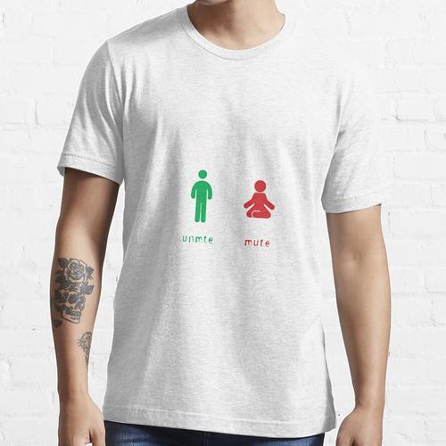 Stummschaltung der Stummschaltung Essential T-Shirt