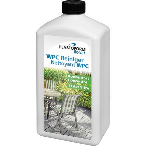 florco Fussbodenreiniger, für WPC-Flächen, Konzentrat 1 Liter weiß Reinigungsmittel Reinigungsgeräte Küche Ordnung Fussbodenreiniger