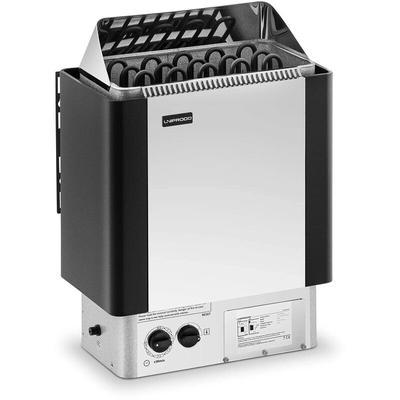 Poêle Radiateur Électrique Chauffage Pour Sauna Cabines De 8 - 12 m³ Inox - Uniprodo