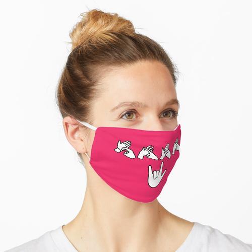 Rana BSL / AUSLAN Maske