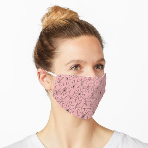 Nezuko Kimetsu no yaiba gestempelt Maske