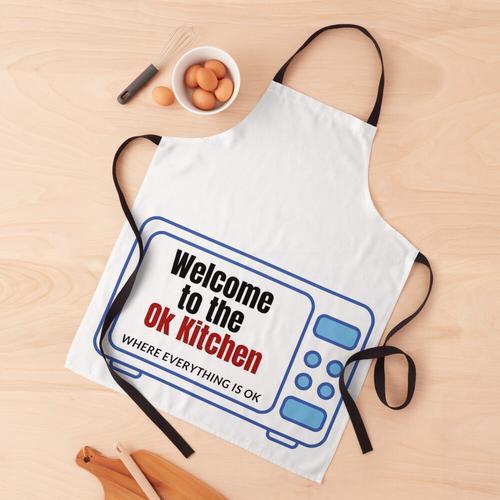 Ok Küche (Mikrowelle) Schürze