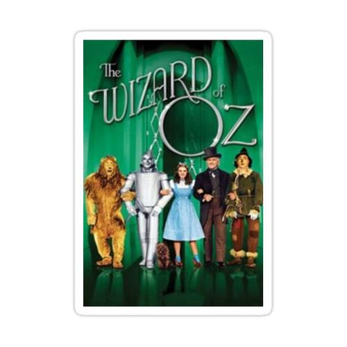 Der Zauberer von Oz Sticker