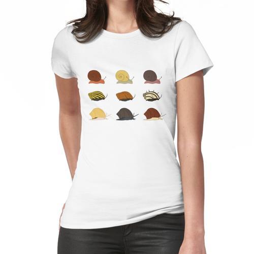 Aquarienschnecken! Frauen T-Shirt