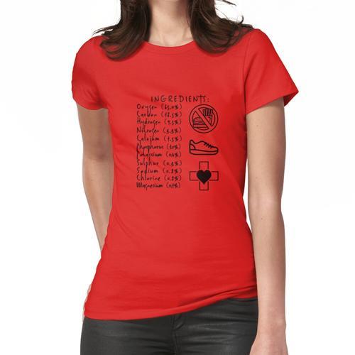 Menschliche Inhaltsstoffe Frauen T-Shirt