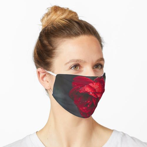 Tiefes Rosenrot Maske