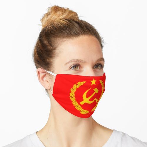 Logo der Sowjetunion Maske