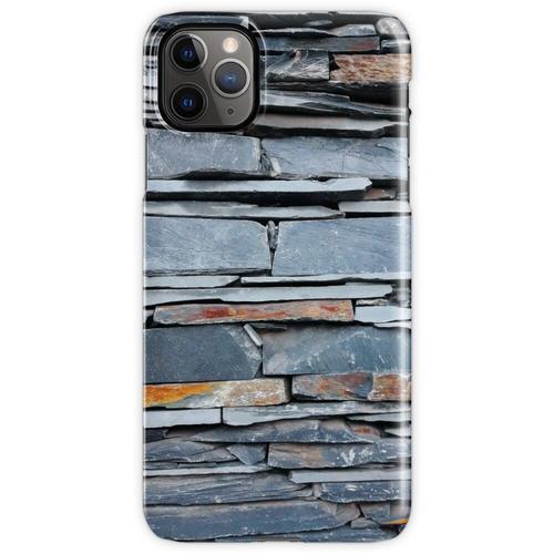 Steinplattenmauer iPhone 11 Pro Max Handyhülle
