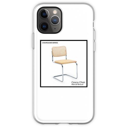 STUHLSERIE - Cesca von Marcel Breuer Flexible Hülle für iPhone 11 Pro