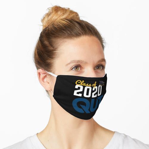 QUT-Absolvent Maske