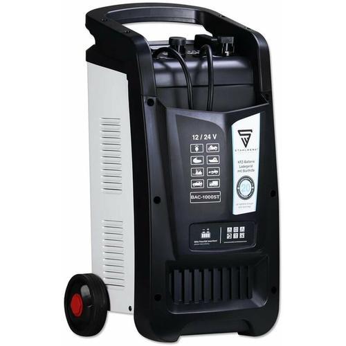 KFZ Batterie-Ladegerät BAC-1000 ST 12/24V Modus mit bis zu 1000 Ah Batteriekapazität und 90 A