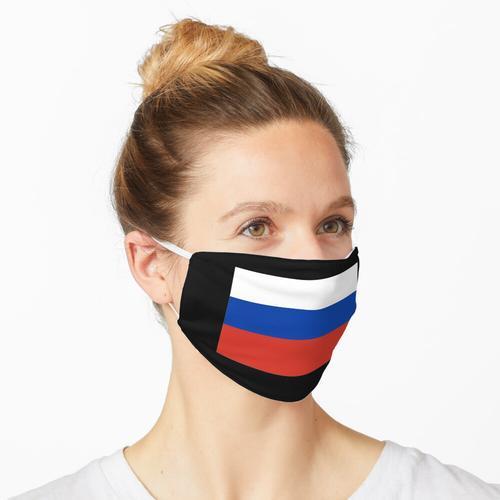 Russland Flagge Fahne russisch Moskau Wodka UDSSR Maske