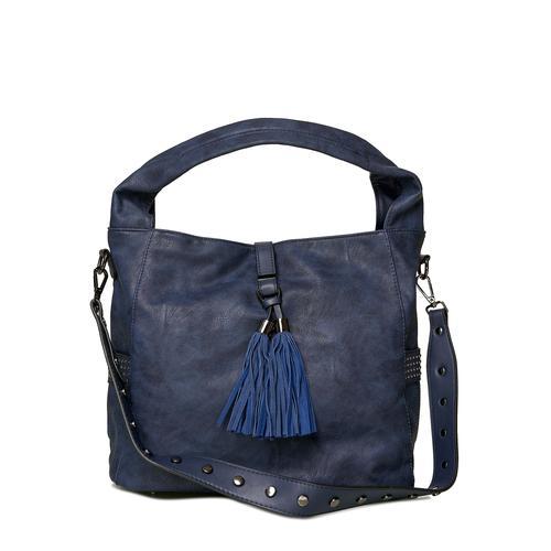 Emma & Kelly Schultertasche, mit bequemem Schultergurt blau Damen Handtaschen Taschen Schultertasche