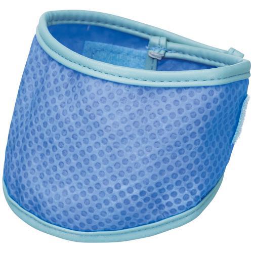 TRIXIE Hunde-Halsband Kühlbandana, Kunststoff, in versch. Größen blau Hundehalsbänder Hund Tierbedarf