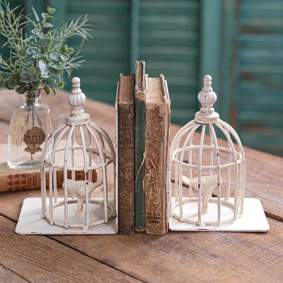 Birdcage Bookends - CTW Home Collection 420198