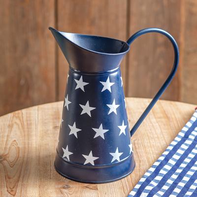 Navy Pitcher with Stars - CTW Home Collection 370282